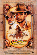 "Movie Posters:Action, Indiana Jones and the Last Crusade (Paramount, 1989). One Sheet(27"" X 40"") SS Advance, Drew Struzan Artwork. Action.. ..."