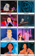 "Movie Posters:Animation, Pocahontas (Buena Vista, 1995). International Lobby Card Set of 16(11"" X 14""). Animation.. ... (Total: 16 Items)"