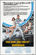 "Movie Posters:James Bond, Moonraker (United Artists, 1979). One Sheet (27"" X 41"") ReviewStyle, Dan Gouzee Artwork. James Bond.. ..."