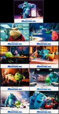 "Movie Posters:Animation, Monsters, Inc. (Buena Vista, 2001). International Lobby Card Set of 9 (11"" X 14""). Animation.. ... (Total: 9 Items)"