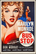 "Movie Posters:Drama, Bus Stop (20th Century Fox, 1956). British Double Crown (20"" X 30"")Tom Chantrell Artwork. Drama.. ..."