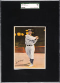 Baseball Cards:Singles (1930-1939), 1936 R312 Pastels Joe DiMaggio SGC 84 NM 7 - Pop One, Only One Higher. ...