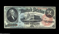 Large Size:Legal Tender Notes, Fr. 42 $2 1869 Legal Tender Very Choice New. One of the nicestRainbow Deuces we've seen in some time. The colors simply can...