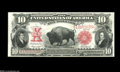 Large Size:Legal Tender Notes, Fr. 120 $10 1901 Legal Tender Gem New. A handsome Bison with broadmargins, excellent color, and nice paper surfaces. Fr. 11...