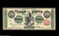 Large Size:Legal Tender Notes, Fr. 126b $20 1863 Legal Tender New. There are a few light handlingwrinkles and one corner is slightly rounded on this fresh...