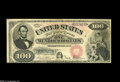 Large Size:Legal Tender Notes, Fr. 171 $100 1878 Legal Tender Choice Fine. Under twenty examplesare known for this one number type, and only three of thos...
