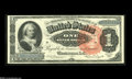 Large Size:Silver Certificates, Fr. 217 $1 1886 Silver Certificate Very Choice New. The top margins - both front and back - are a hair shy for the Gem grade...