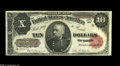 Large Size:Treasury Notes, Fr. 371 $10 1891 Treasury Note Very Fine. Nice natural surfaces, decent margins and good color. A problem-free mid-grade Tre...