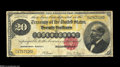 Large Size:Gold Certificates, Fr. 1178 $20 1882 Gold Certificate Fine-Very Fine. A nicely margined 1882 $20 Gold. The only distractions worth mentioning a...