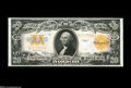 Large Size:Gold Certificates, Fr. 1187 $20 1922 Gold Certificate Gem New. This $20 Gold isbroadly margined, with terrific color, and lots of eye appeal. ...