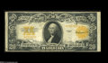 Large Size:Gold Certificates, Fr. 1187 $20 1922 Gold Star Certificate Fine. This $20 Gold has escaped pinholes and edge tears, while also evading the long...