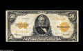 Large Size:Gold Certificates, Fr. 1200 $50 1922 Gold Certificate Very Fine. A handsome GoldCertificate with plenty of original crispness, good color and ...