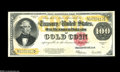 Large Size:Gold Certificates, Fr. 1215 $100 1922 Gold Certificate Gem New. Very pretty $100 Gold with terrific paper surfaces, huge margins, and perfectly...