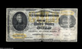 Large Size:Gold Certificates, Fr. 1225 $10000 1900 Gold Certificate Good. This cancelled note was carried around while folded into eighths. The Treasury s...