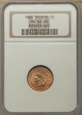 Indian Cents, 1864 1C Bronze No L MS64 Red NGC. NGC Census: (40/85). PCGS Population: (106/163). MS64. Mintage 39,233,712. ...