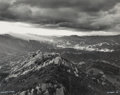 Photographs, Julius Shulman (American, 1910-2009). Santa Monica Mountains, 1950. Gelatin silver, printed later. 15-1/2 x 19-3/4 inche...