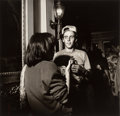Photographs, Larry Fink (American, b. 1941). Untitled (Couple Talking), 20th century. Gelatin silver. 14-1/2 x 15 inches (36.8 x 38.1...