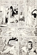 Original Comic Art:Panel Pages, George Pérez and Romeo Tanghal The New Teen Titans #7 StoryPage 6 Original Art (DC, 1981).