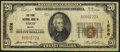 National Bank Notes, Saco, ME - $20 1929 Ty. 1 The York NB Ch. # 1528. ...