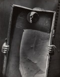 Photographs, Clarence John Laughlin (American, 1905-1985). The Power of the Rectangle, circa 1950s. Gelain silver, printed later. 9-3...