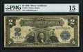 Large Size:Silver Certificates, Fr. 256 $2 1899 Silver Certificate PMG Choice Fine 15.. ...