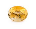 Gems:Faceted, Gemstone: Citrine - 9.65 Cts.. Brazil. 12.37 x 16.66 x 9.76 mm . ...