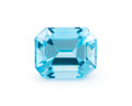 Gems:Faceted, Gemstone: Blue Topaz - 6.08 Cts.. Brazil. 11.01 x 9.02 x 6.93 mm. ...