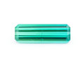 Gems:Faceted, Gemstone: Indicolite - 1.19 Cts.. Southwest Africa. 11.71 x 3.97 x 2.78 mm. ...