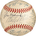 Autographs:Baseballs, 1947 St. Louis Cardinals Team Signed Baseball....
