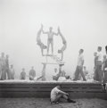 Photographs:Gelatin Silver, Don Jim (Chinese/American, 20th Century). Three Photographs from the series 'Muscle Beach, Santa Monica 1950s', circ... (Total: 3 )