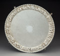 Silver & Vertu:Hollowware, An S. Kirk & Son Silver Footed Tray, Baltimore, Maryland, late 19th century . Marks: S KIRK & SON, 11 OZ, (effaced). 1-1...