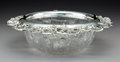 Silver Holloware, American:Bowls, A Tiffany & Co. Silver Mounted Cut-Glass Bowl, New York,1902-1907. Marks: TIFFANY & CO. MAKERS, STERLING SILVER,C. 3-5...
