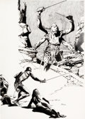 Original Comic Art:Illustrations, Al Williamson - John Carter of Mars Illustration Original ...