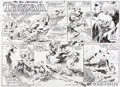 Original Comic Art:Comic Strip Art, Tom Grindberg The New Adventures of Tarzan #3722 WebcomicStrip Original Art (ERB Inc., 2014)....