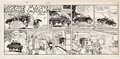 Original Comic Art:Comic Strip Art, Hal Rasmusson Aggie Mack Sunday Comic Strip Original Artdated 11-14-48 (Chicago Tribune, 1948)....