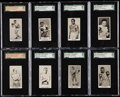"Boxing Cards:General, 1938 Cartledge Razor ""Famous Prize Fighters"" High Grade SGCComplete Set (50). ..."