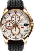 Timepieces:Wristwatch, Chopard, Mille Miglia Gran Turismo XL Automatic Chronograph, 18K Rose Gold, Limited Edition No. 167/500, Ref. 161268-5003, Ful...