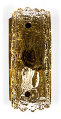 Lighting:Sconces, Carl Fagerlund (Swedish, 1915-2011). Wall Sconce, circa 1970, Orrefors Glassworks. Gefion glass, brass. 11 x 4-1/2 inche... (Total: 2 Items)
