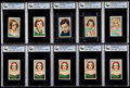 "Non-Sport Cards:Lots, 1934 Gallaher LTD ""Champions of Stage and Screen"" GAI Graded Collection (10)...."