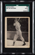 Baseball Cards:Singles (1930-1939), 1939 Play Ball Ted Williams #92 SGC 35 Good+ 2.5....