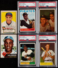 Baseball Cards:Lots, 1950's - 1960's Baseball Hall of Famers Card Collection (6). ...