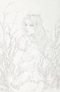 Original Comic Art:Covers, Tyler Kirkham Grimm Fairy Tales: Return to Wonderland #2Variant Cover Original Art (Zenesco...
