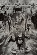 Photographs, Jerry Uelsmann (American, b. 1934). Notre Dame-Self Portrait, 1973. Gelatin silver. 12-3/4 x 8-3/4 inches (32.4 x 22.2 c...