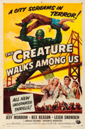 "Movie Posters:Horror, The Creature Walks Among Us (Universal International, 1956). OneSheet (27"" X 41"") Reynold Brown Artwork.. ..."