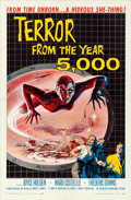 Movie Posters:Science Fiction, Terror from the Year 5000 (American International, 1958).