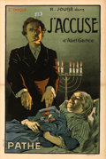 "Movie Posters:Foreign, J'accuse, Part 2 (Pathé, 1919). French Half Grande (31.5"" X 47.25"")Misti Artwork.. ..."