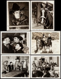 "Movie Posters:Western, Destry Rides Again & Others Lot (Universal, 1932). Photos (6)(8"" X 10""). Western.. ... (Total: 6 Items)"