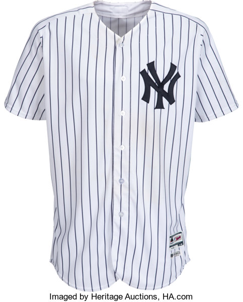 on sale e49d1 870d3 2018 Luis Severino Game Worn & Unwashed New York Yankees ...