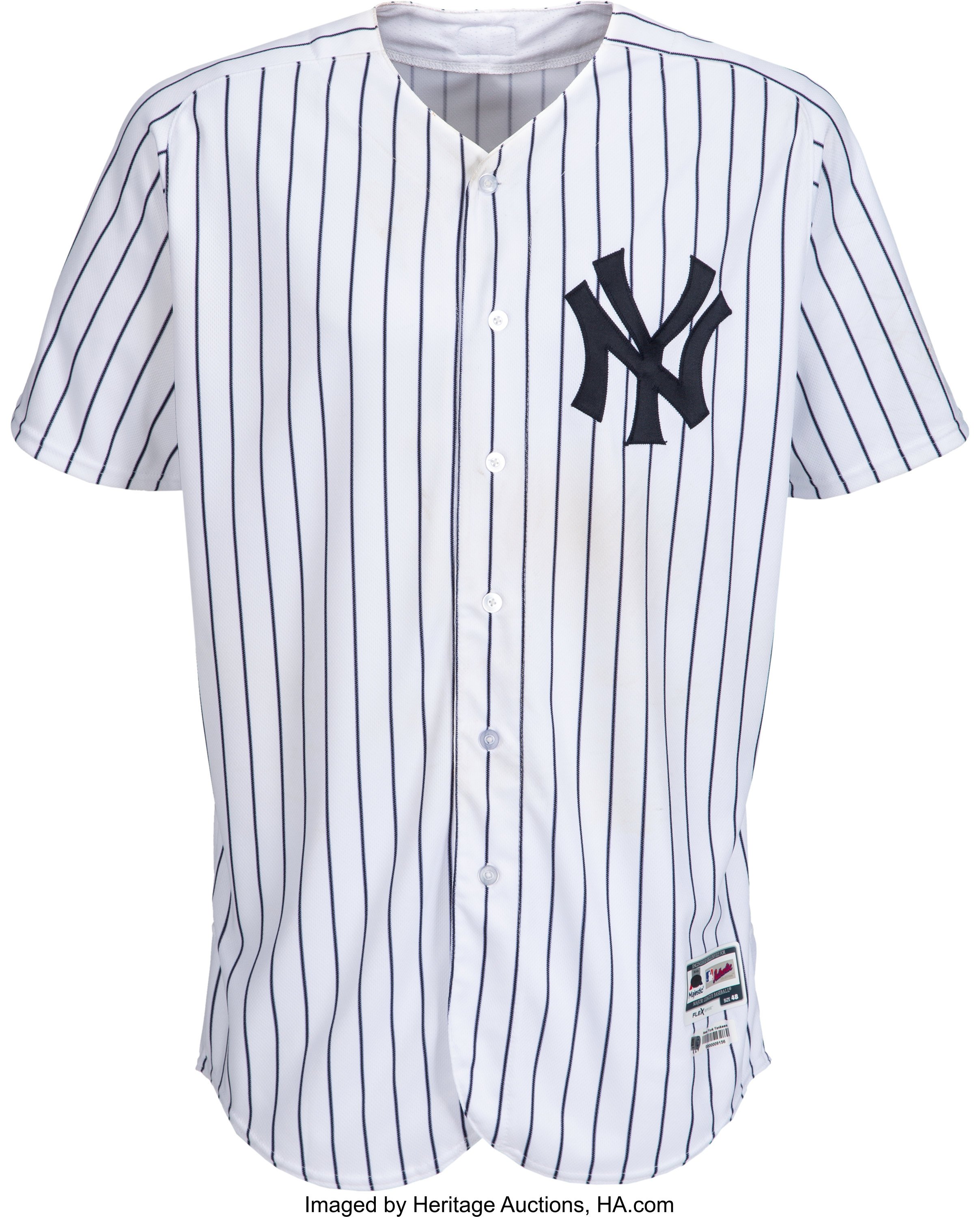 on sale 4feab 58918 2018 Luis Severino Game Worn & Unwashed New York Yankees ...