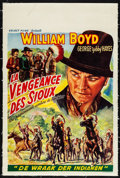 "Movie Posters:Western, Hills of Old Wyoming (Select Films, 1950s). First Post-War ReleaseBelgian (14.25"" X 21.5""). Western.. ..."